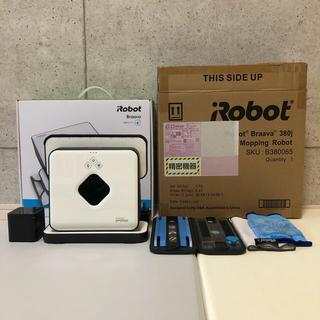 アイロボット(iRobot)のiRobot Braava 380j ブラーバ 床拭きロボット (掃除機)
