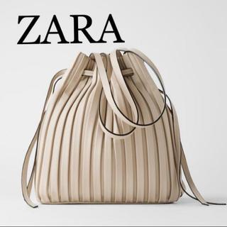 ZARA - ZARAプリーツバッグ