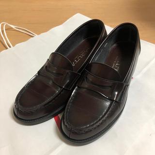 ハルタ(HARUTA)のHARUTA ローファー 25 EEE ブラウン ジャマイカ(ローファー/革靴)