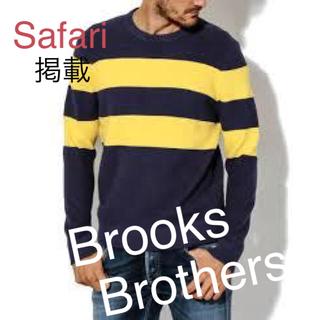 ブルックスブラザース(Brooks Brothers)の未使用!Brooks Brothers★コットン クルーネックセーター(ニット/セーター)