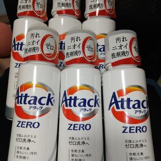 カオウ(花王)のアタックZERO 400g 6本セット(洗剤/柔軟剤)
