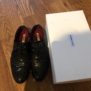 ドルチェアンドガッバーナ(DOLCE&GABBANA)のレースアップシューズ(ローファー/革靴)