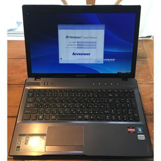 Lenovo - Lenovo Z575 メモリ8GB