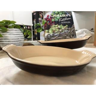 ルクルーゼ(LE CREUSET)のル・クルーゼ オーバルディッシュ 16cm の2枚セット(食器)