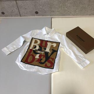 BURBERRY - BURBERRY バーバリー 3Y 98cm シャツ 新品
