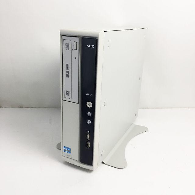 NEC(エヌイーシー)の中古☆NEC デスクトップパソコン MJ33LL-F スマホ/家電/カメラのPC/タブレット(デスクトップ型PC)の商品写真