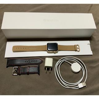 Apple Watch - 【美品】Apple Watch series2 42mm ゴールド GPS