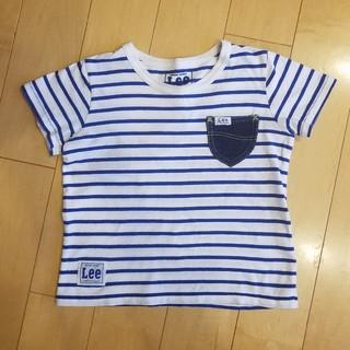 リー(Lee)のLeeボーダーTシャツ110センチ(Tシャツ/カットソー)