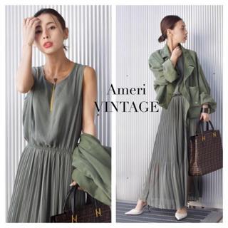 Ameri VINTAGE - ☆アメリヴィンテージ☆SHIRRING CHIFFON DRESS