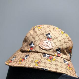 Gucci - GUCCI*ディズニー ミッキーxグッチ リバーシブル バケットハット