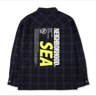 NEIGHBORHOOD - NEIGHBORHOOD WIND AND SEA コラボネルシャツ S