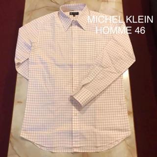 ミッシェルクランオム(MICHEL KLEIN HOMME)のMICHEL KLEIN HOMME チェックシャツ(シャツ)