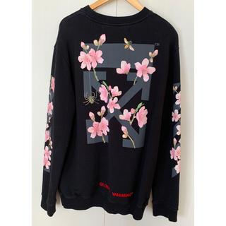OFF-WHITE - OFF-WHITE cherry blossom ロンT M