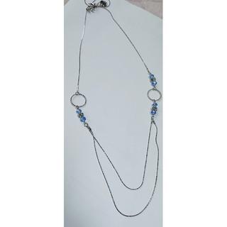 エニィスィス(anySiS)のエニィスィス ネックレス ブルー(ネックレス)