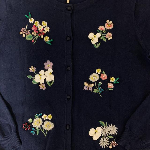Chesty(チェスティ)のchesty チェスティ お花刺繍6モチーフカーディガン レディースのトップス(カーディガン)の商品写真