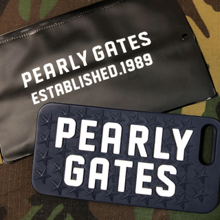パーリーゲイツ(PEARLY GATES)のPEARLY GATES  iPhone8plusカバー(iPhoneケース)