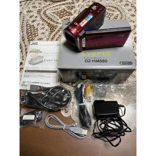 【付属品完備】JVC Everio GZ-HM880(ビデオカメラ)