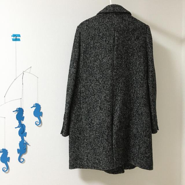 UNITED ARROWS(ユナイテッドアローズ)の【5度着用】ユナイテッド アローズ TOKYO チェスターコート ロングコート レディースのジャケット/アウター(チェスターコート)の商品写真