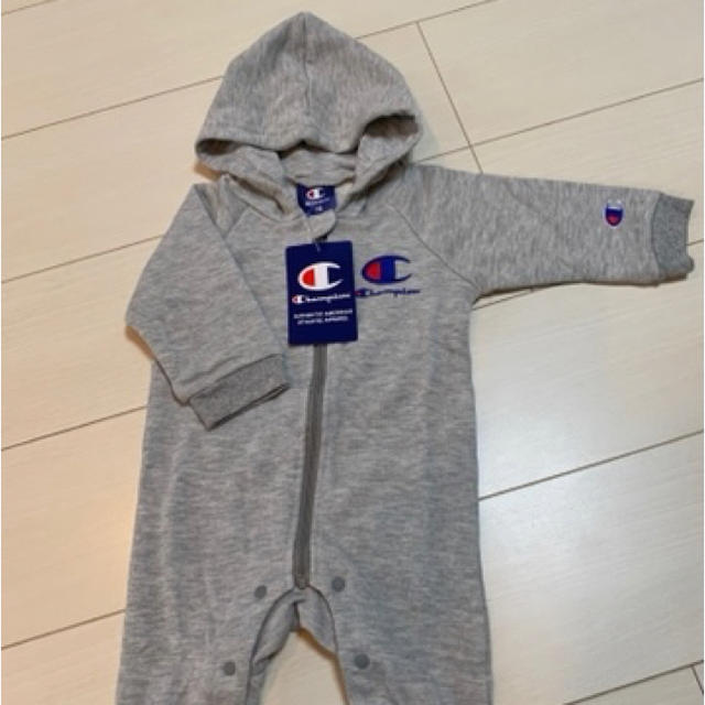 Champion(チャンピオン)のchampionチャンピオン ロンパース 70 キッズ/ベビー/マタニティのベビー服(~85cm)(ロンパース)の商品写真