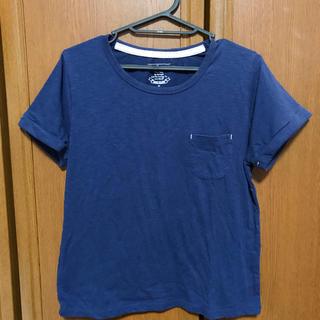 しまむら - Tシャツ 紺
