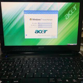 エイサー(Acer)のAcer Aspire one 722-CM301(ノートPC)