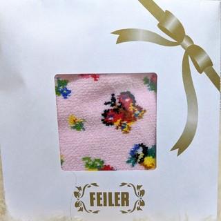 FEILER - 阪急♡阪神♡高島屋限定!レア! フェイラー ハイジ ミニ巾着 ポーチ ピンク