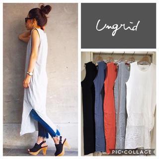 Ungrid - Ungrid**レイヤードカットワンピース