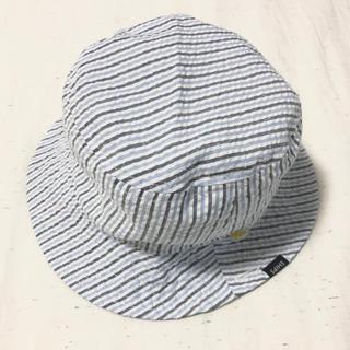 シップスキッズ(SHIPS KIDS)の【SHIPS KIDS】リバーシブル帽子(S:約45㎝)(帽子)