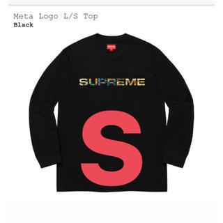 Supreme - Supreme Meta Logo L/S Top Black S