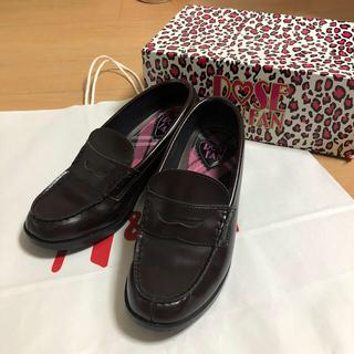 ローズファンファン(ROSE FANFAN)のローズファンファン ローファー ブラウン 25 EEE(ローファー/革靴)