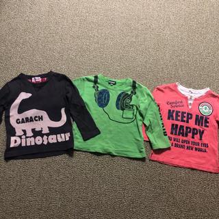 サンカンシオン(3can4on)のロンT 長袖カットソー 男の子 3枚セット(Tシャツ/カットソー)
