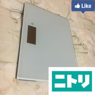 ニトリ(ニトリ)の【値下げ交渉可】ニトリ 電子体重計 EB9325(体重計)