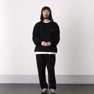 1LDK SELECT - SEESEE sweat setup black size3