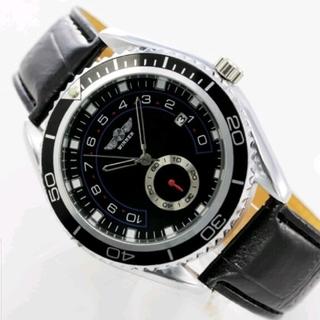 トップファッションメンズ腕時計自動機械式カレンダー日付ダイヤル(腕時計(アナログ))
