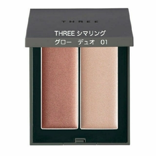 THREE - 【新品未開封】THREE シマリング グロー デュオ 01
