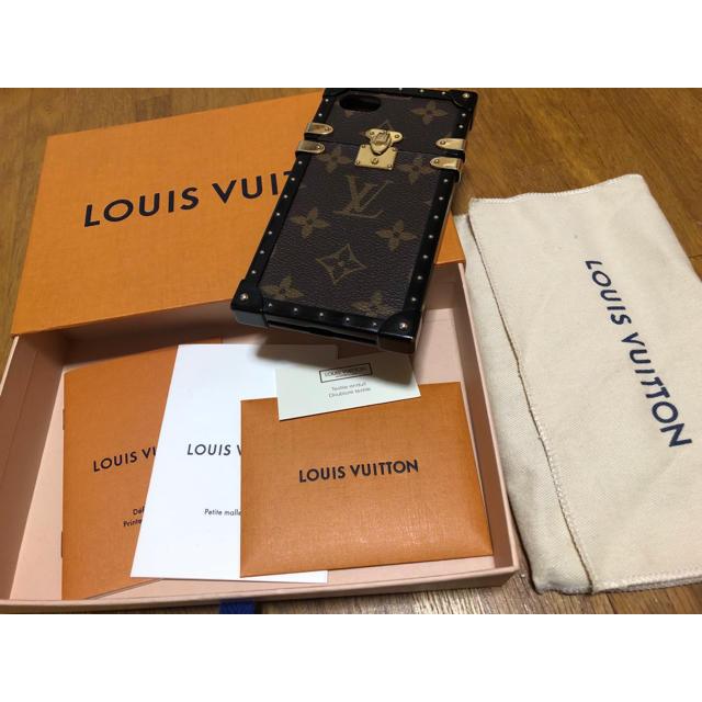 LOUIS VUITTON アイトランク iPhone7/8ケースの通販