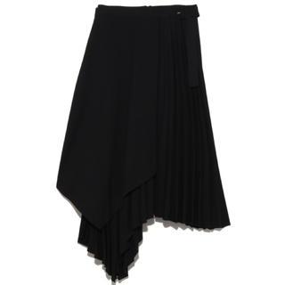 Mila Owen - ミラオーウェン【プリーツレイヤードスカート】新品・タグ付き