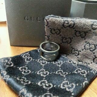 グッチ(Gucci)の【お値下げ】GUCCI 指輪(リング(指輪))