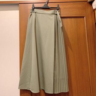 GU - コンビネーションプリーツスカート