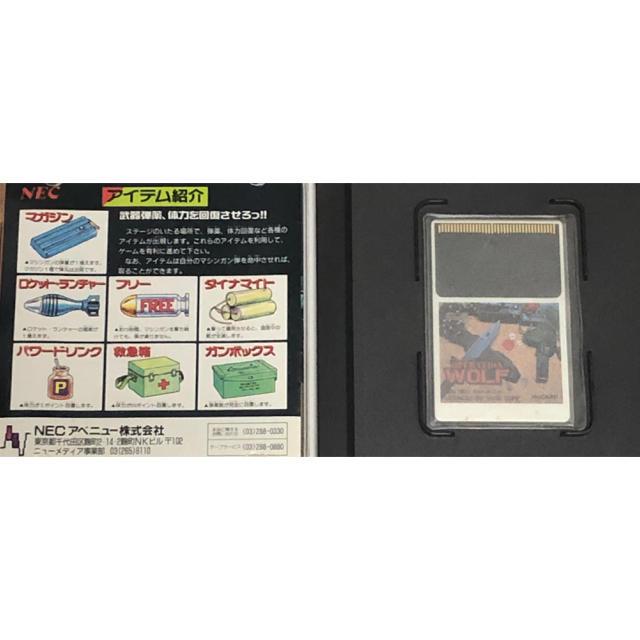 NEC(エヌイーシー)のPC-Engine オペレーションウルフ エンタメ/ホビーのゲームソフト/ゲーム機本体(家庭用ゲームソフト)の商品写真