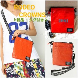 ロデオクラウンズ(RODEO CROWNS)の×VTAサコッシュ♡RODEO CROWNS ロデオクラウンズ 新品 タグ付き(ショルダーバッグ)