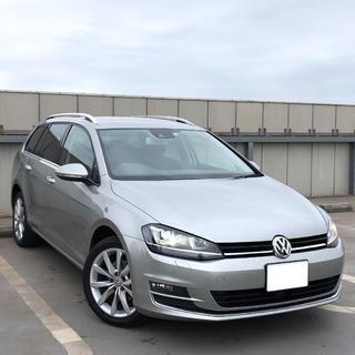 Volkswagen - 【程度極上☆ 車検長!】ゴルフヴァリアント TSIハイライン☆