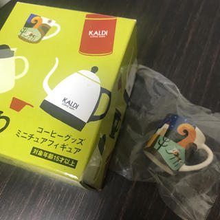 カルディ(KALDI)の■KALDI■コーヒーグッズミニチュアフィギュア マグカップ(ミニチュア)