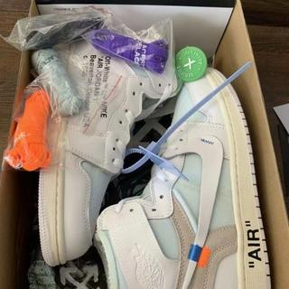 ナイキ(NIKE)の 27.5cm NIKE AIR JORDAN 1 x OFF WHITE NR(スニーカー)