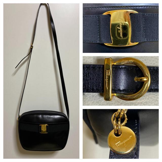 Salvatore Ferragamo(サルヴァトーレフェラガモ)の極 美品 サルヴァトーレ  フェラガモ ヴァラ ショルダー バッグ ポシェット レディースのバッグ(ショルダーバッグ)の商品写真
