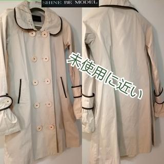 送料800込み❣️激安‼️トレンチコート スプリングコート 未使用に近い 乳白色(トレンチコート)