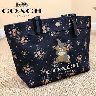 COACH - 正規品◆新品 COACH×Disneyのトートバッグ!