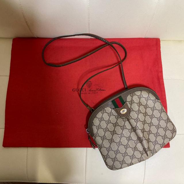 ベッカム 時計 偽物 | Gucci - 美品 紙タグ GUCCI オールドグッチ シェリーライン ショルダー バッグの通販