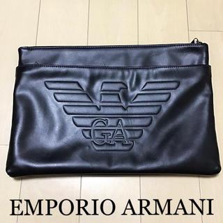 Emporio Armani - 本日価格☆正規品☆エンポリオ アルマーニ クラッチバッグ