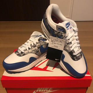 NIKE - atmos × NIKE AIR MAX 1 BLUE WE LOVE NIKE